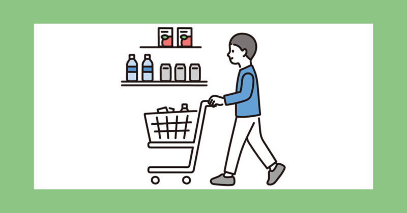 豆乳たっぷりスンドゥブのお買い物イメージ図