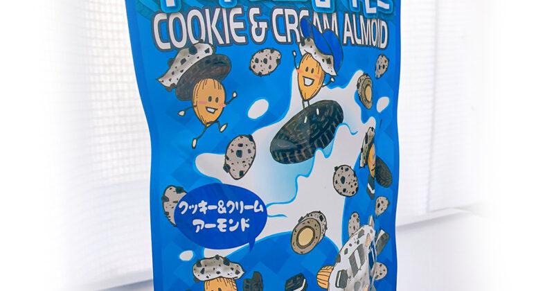 クッキーアンドクリームのパッケージイラスト